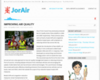 New JorAir website