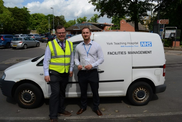 City of York Council working in partnership with the NHS to reduce emissions from idling vehicles