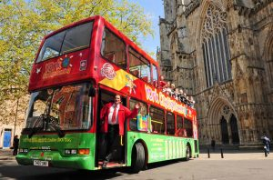 York Sightseeing Bus Converted to Electric Drive