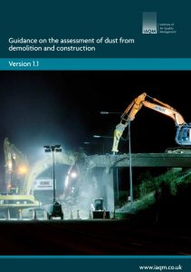 Guidance on the assessment of dust from demolition and construction