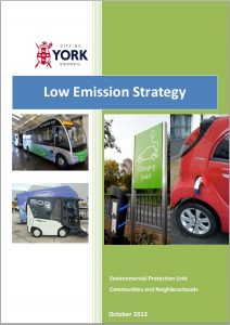York Low Emission Strategy